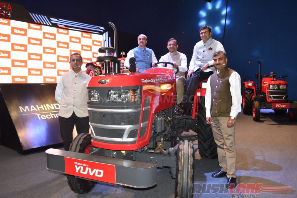 mahindra automatic tractor