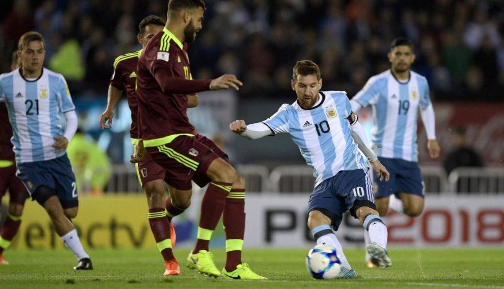 argentina vs venezuela match finishes with draw