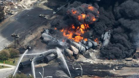 landon rail blast today