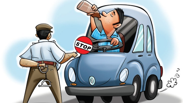 drunk drivning is punishable offence