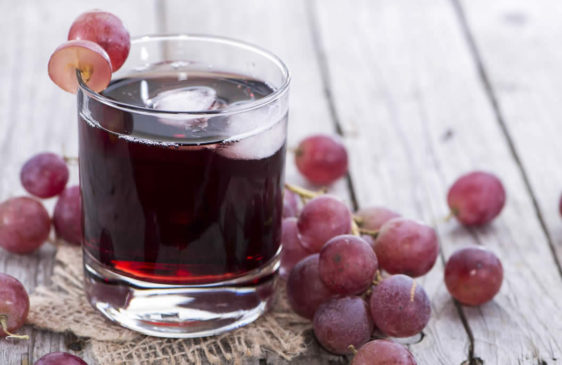 grape juice effect