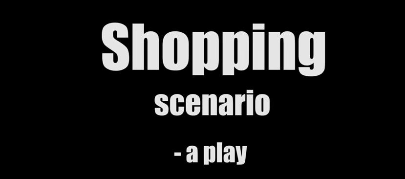 Shopping Scenario jump cuts