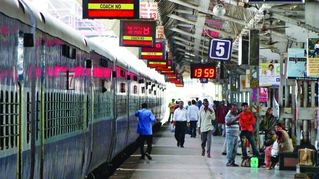 hereafter new smell wafted in railyway station