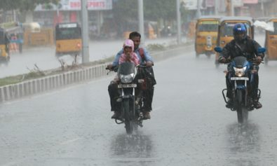 rain at chennai